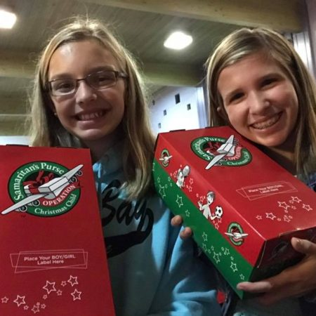 Operation Christmas Child Drop Off.Operation Christmas Child National Collection Week Shoebox